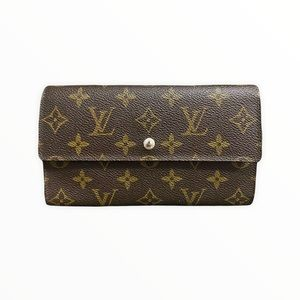 Louis Vuitton Wallet   Louis Vuitton International Long Monogram Wallet